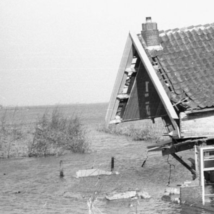 North Sea flood of 1953, one of the most notable examples of Holland's fight against the water